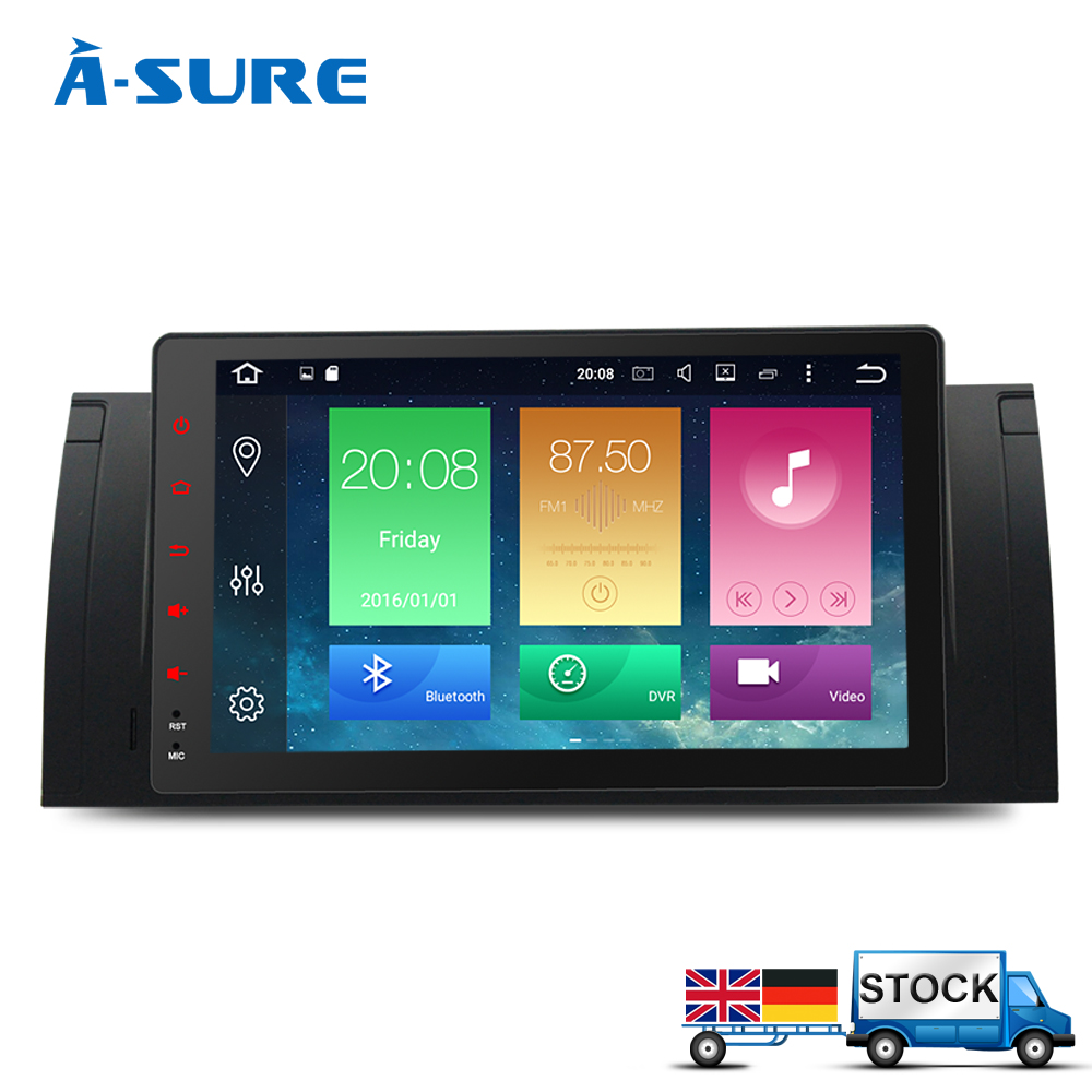 a sure android 6 0 gps radio 1 din navi stereo for bmw x5. Black Bedroom Furniture Sets. Home Design Ideas
