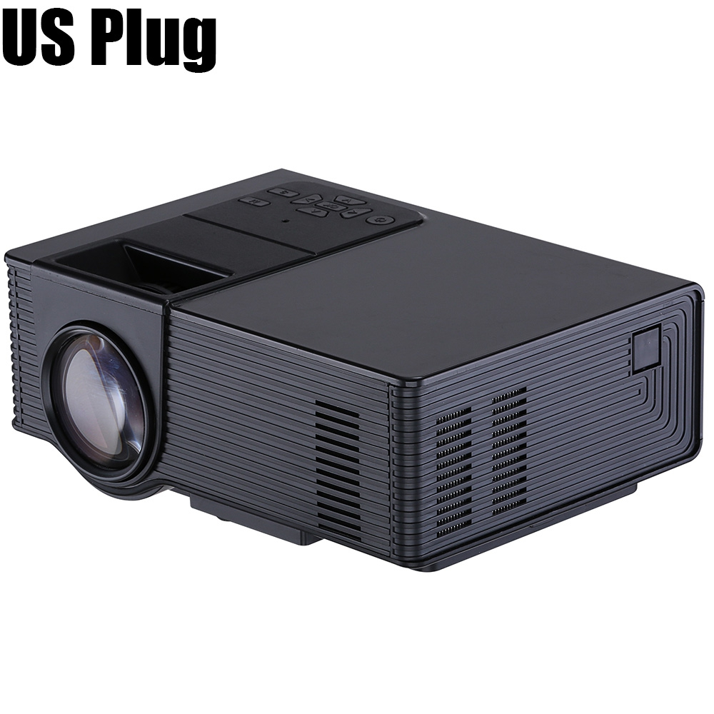 Wooyi vs314 projector 1500 lumens support 1920x1080p for Highest lumen pocket projector
