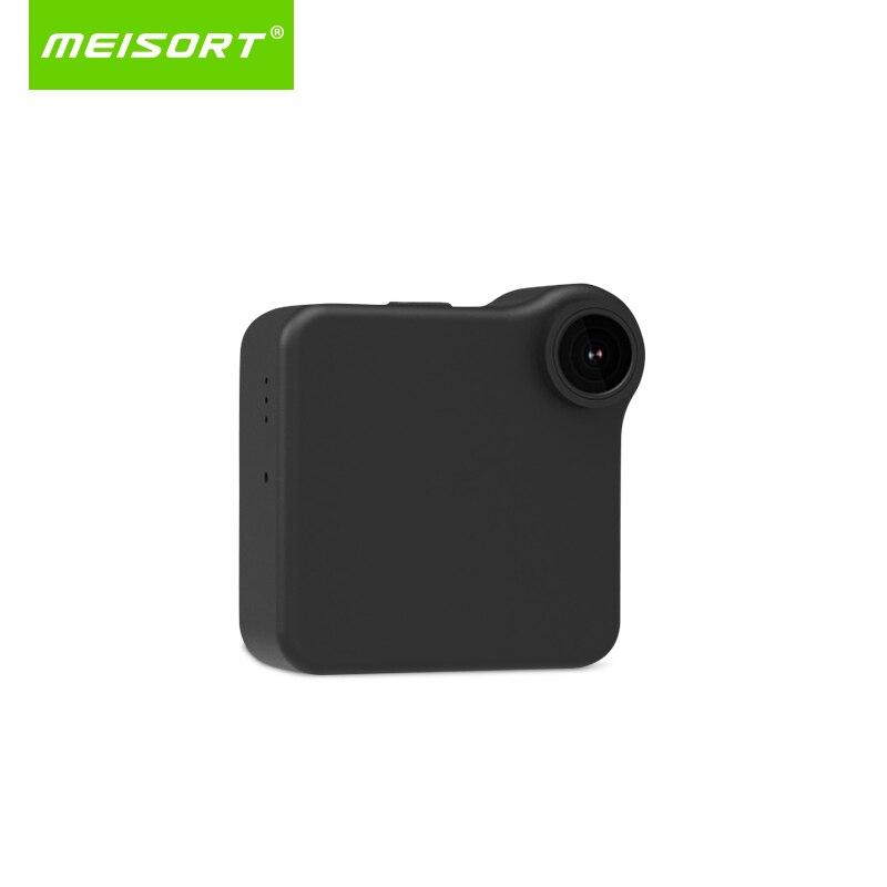 Meisort wifi P2P Mini cámara HD 720 p Cámara Wearable IP Sensor de movimiento cuerpo de bicicleta Mini DV DVR Magnetic clip de voz