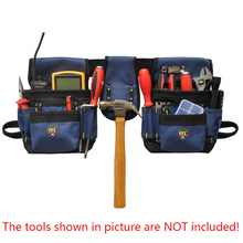 PT-N012 Oxford Cloth Tool Belts Waist Bag Tool Bag Electrician Work Bags Without Lid