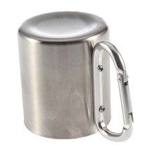 180ml Stainless Steel Camping Cup Mug