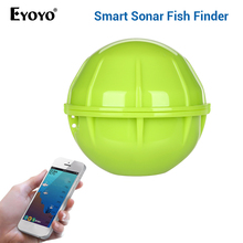 Eyoyo E1 Portable Sonar Fish Finder Bluetooth Wireless Depth Sea Lake Detect Echo Sounder Sener IOS Android