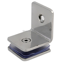 Free Shipping Glass Clamp Door Stainless Steel Hardware Part Glass Door Spreader Shower Part Sliding