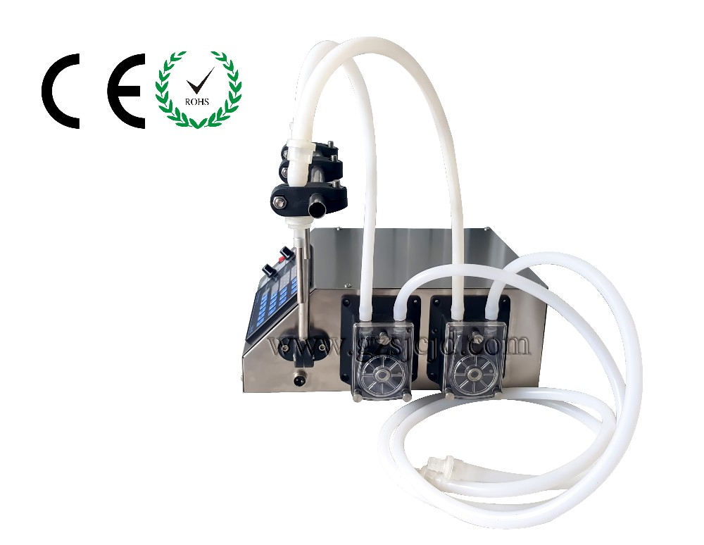 peristaltic pump filling machine3-3000ml/min with 2 heads liquid filler for perfumes,e-liquid filling machine zonesun pneumatic a02 new manual filling machine 5 50ml for cream shampoo cosmetic liquid filler
