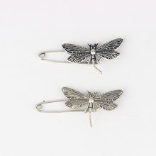 5 x Kilt Scarf Strong Metal Pin Large Safety Dragonfly Brooch Skirt Knitted 50mm Brooch Pins