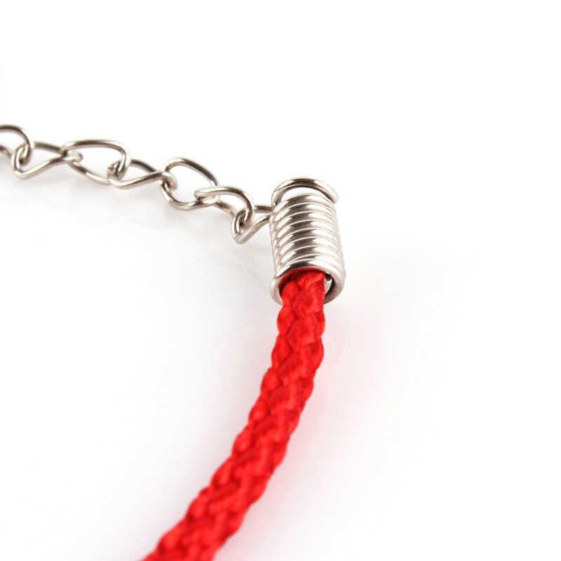 חם 1 pc אתני מזל אדום חבל שרשרת חמוד חרוזים נשים גברים מאהב של צמידי טרנדי עדין צמידי Jewery
