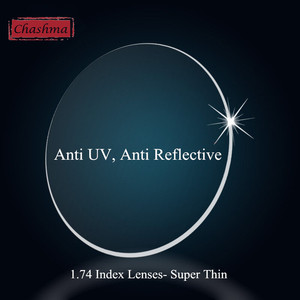 Image 1 - Chashma Ultra Dünne Anti UV 1. 74 INDEX LINSEN HMI BESCHICHTUNG Linsen Gläser Custom Machen Rezept OPTISCHEN Linsen