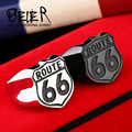 Beier new store 316L Stainless Steel ring high quality USA Biker Road ROUTE 66 Ring For Men Motor Biker Men's Jewelry BR8-126
