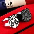 Beier nova loja eua biker anel aço inoxidável 316l de alta qualidade ROTA da estrada 66 Anel Para Homens Jóias BR8-126 dos homens Do Motociclista Do Motor
