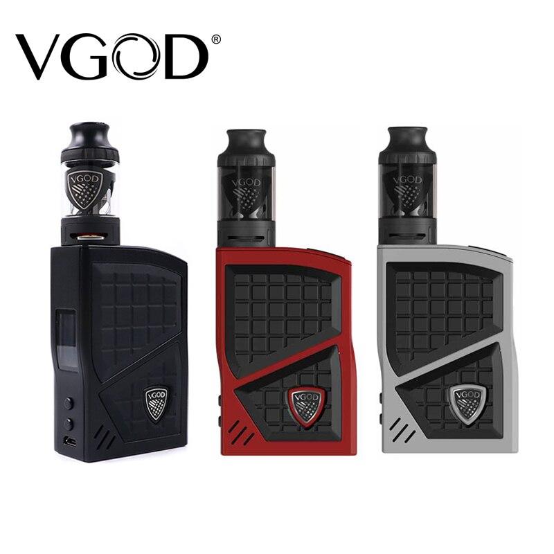Nouveau VGOD Pro 200 boîte Mod Kit TC vaporisateur Mod 200 w 4 ml VGOD Sub ohm réservoir atomiseur Cigarettes électroniques Vape mod accessoires