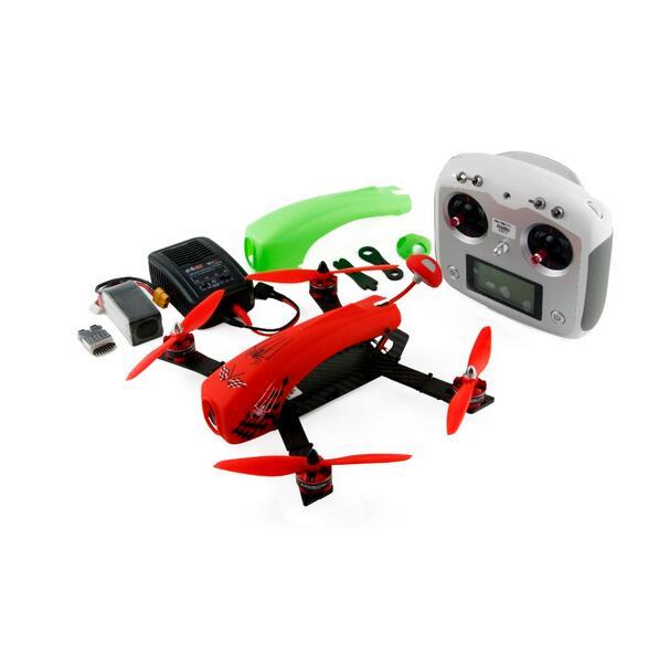 Kingkong сделай сам Человека паука 260 RTF мини гоночный Дрон Квадрокоптер с Камера с Flysky I6S дистанционного Управление готов к полету quadkopter