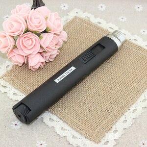Image 3 - 1pcs Portable Outdoor Jet Flame Butane Gas Refill Lighter Welding Torch Pen P0.11