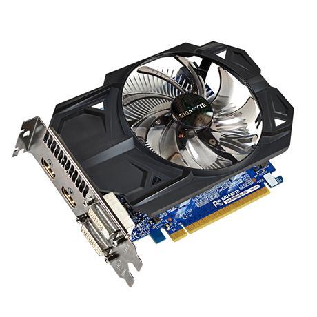 Gigabyte GV-N750OC-2GI cartes graphiques d'origine 128 bits GTX 750 2G GDDR5 carte vidéo 2 * DVI 2 * HDMI pour Nvidia Geforce GTX750