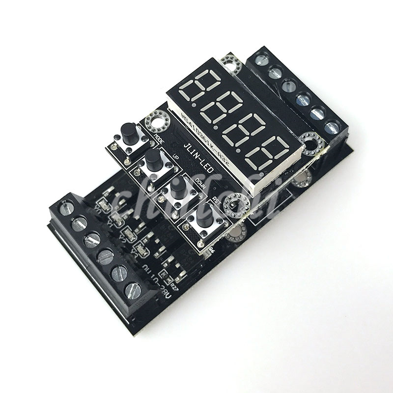 PLC Industrial Control Board Digital Tube Machine FX1N_10MT Delay Module