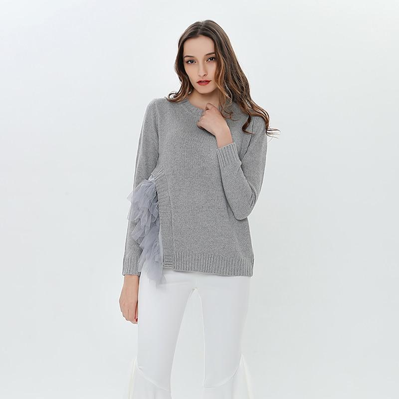 одежда топы, пуловер Большой