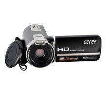 FHD 1080 P Цифровая видеокамера ночного видения широкий угол Макро Рыбий съемки 24MP Сенсорный экран Камера fotografica 302 s