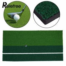 Relefree 60 x 30 cm 12″x 24″ Residential Training Hitting Pad Backyard Golf Mat Practice Rubber Tee Holder Grass Outdoor Indoor