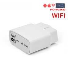 Vgate iCar WIFI with PIC18F25K80 chip OBD Muliscan ELM 327 For Android iPhone OBD2 OBD II Code Reader