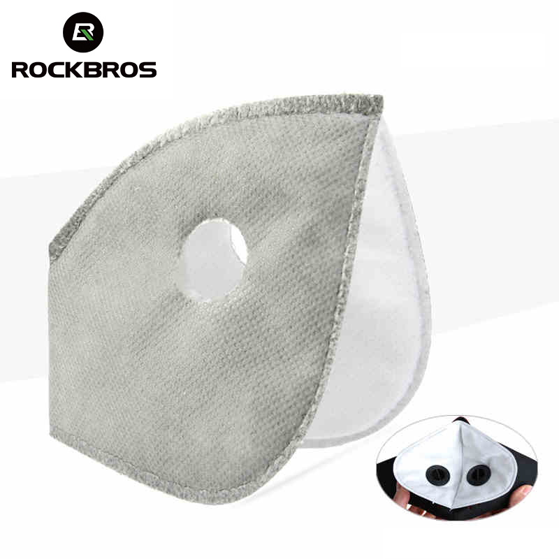 ROCKBROS Filter For Masks MTB Bike Bicycle Cycle Anti-Dust Face Mask Scarf Replacement With Active Carbon Filter Good Protector rockbros bike cycling anti dust half face mask with filter neoprene size s