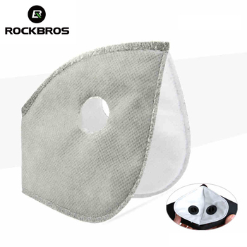 ROCKBROS Filter For Masks MTB Bike Bicycle Cycle Anti-Dust Face Mask Scarf Replacement With Active Carbon Filter Good Protector