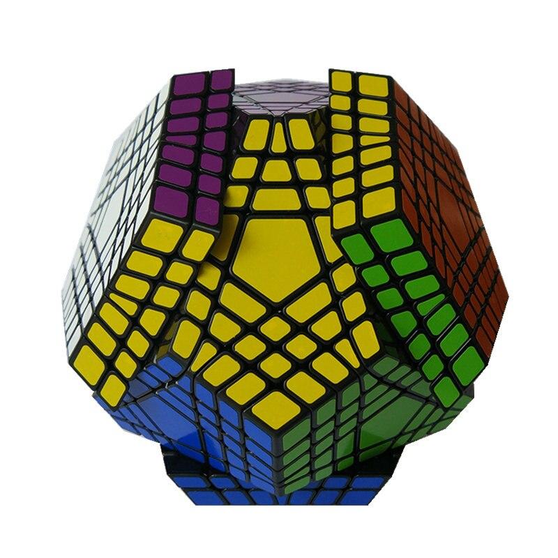 7x7 Megaminx 7x7x7 Magic Cube Teraminx 7x7 профессиональный куб додекаэдра Twist Puzzle образовательные игрушки - 2