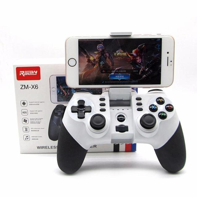 US $11 48 24% OFF|EastVita Wireless Bluetooth Game Controller for iPhone  Android Phones Tablet PC pad Gaming Controle Joystick Gamepad Joypad r25-in