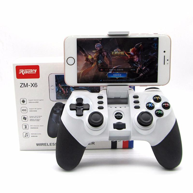Mobile Phone Wireless Bluetooth Controller Remote Gaming Controle Joystick For iphone Android Phone Tablet PC Gamepad Joypad