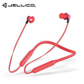Jellico Bluetooth Earphone Built-in Mic Wireless Lightweight Neckband Sport Headphone earbuds stereo auriculares for phone