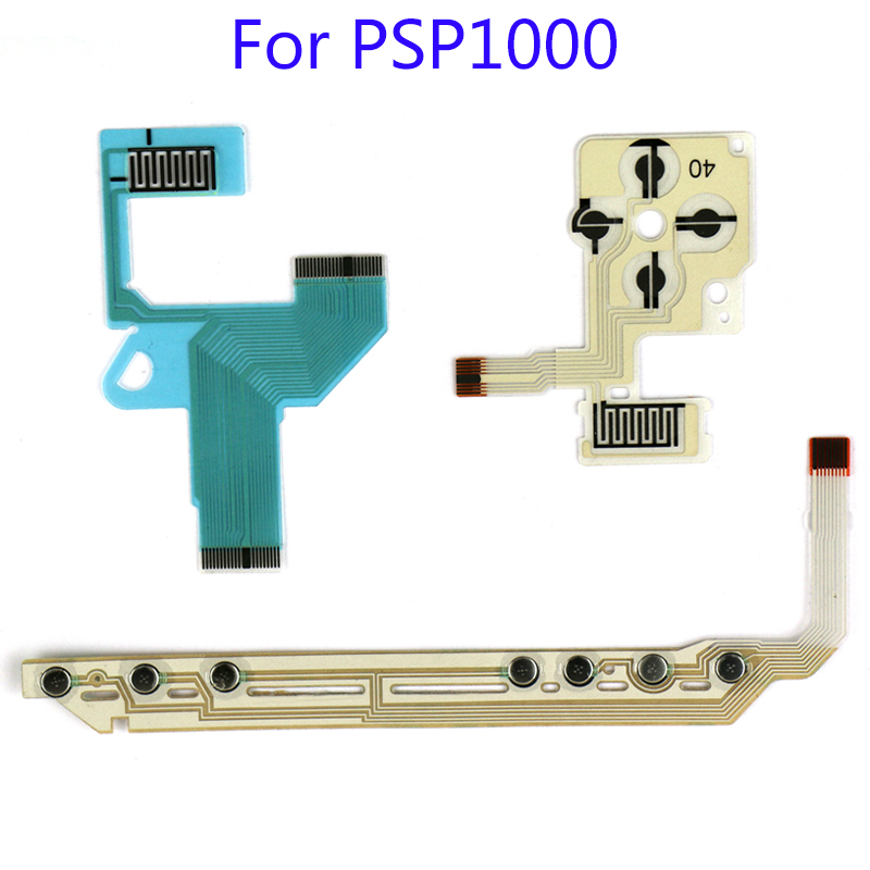 20Sets Direction Cross Button Left Key Volume Right Keypad Flex Cable for PSP 1000 Start Home Volume Key Flex Cable-in Replacement Parts & Accessories from Consumer Electronics on AliExpress - 11.11_Double 11_Singles' Day 1