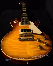 10S Custom Shop Limited Edition 1959 Led Zeppelin Jimmy Page #7 - Tom Murphy Aged and Signed Electric Guitar