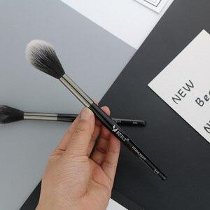 Image 2 - BEILI 1 piece Black Professional Synthetic Makeup brushes Highlighter Blending Blush Eyebrow Eyeliner make up brushes