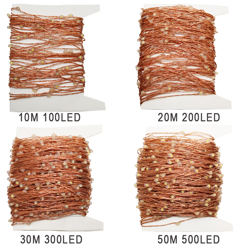 50pcs Wholesale ultra thin invisible copper wire led fairy string ...