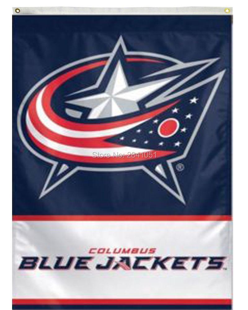 Aliexpress.com : Buy 4 Color Columbus Blue Jackets Outdoor Indoor ...