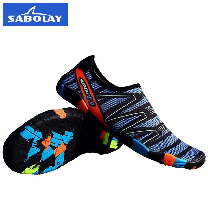 6eaf3dbed Zapatos De deporte al aire libre para hombre, Zapatos De agua para amantes,  Zapatos De playa descalzos, Zapatos De Mujer