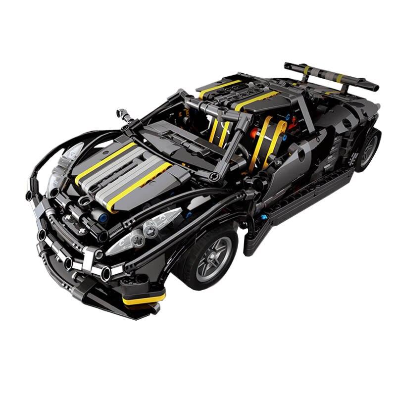 建物 Bolcks 互換性のあるブランド 1171 個テクニックシリーズ Balisong 小さなスーパーカー組み立てる Moc 車のための大人のおもちゃギフト  グループ上の おもちゃ & ホビー からの モデル構築キット の中 1