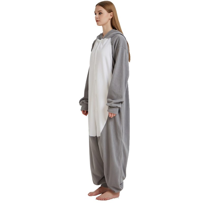 ... Men Adult Funny Cute Rhinoceros Gray Pajamas Cosplay Costume Animal  Onesies Rhino Sleepwear (2) ... 53870aab2
