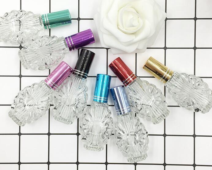 Nieuwe patroon 12 ML Transparrent Glas Spray Parfum Lege Fles 100 stks/partij-in Hervulbare Flessen van Schoonheid op  Groep 1
