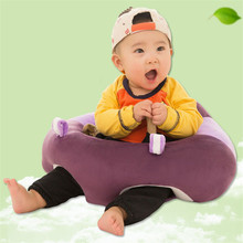 Baby Chair Kids Sofa Infant Learning To Sit Chair Puff Sofa Baby Seat Soft Plush Toys Baby Feeding Chair Baby Nest Best Gifts(China)