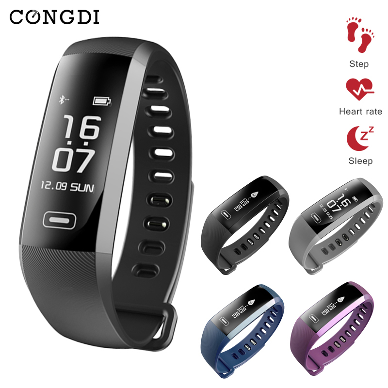CONGDI R5PRO Smart Bracelet Heart Rate/Blood Pressure/ Blood Oxygen Tracker IP67 waterproof Smart Wristband Smart Watch pk <font><b>tezer</b></font> image