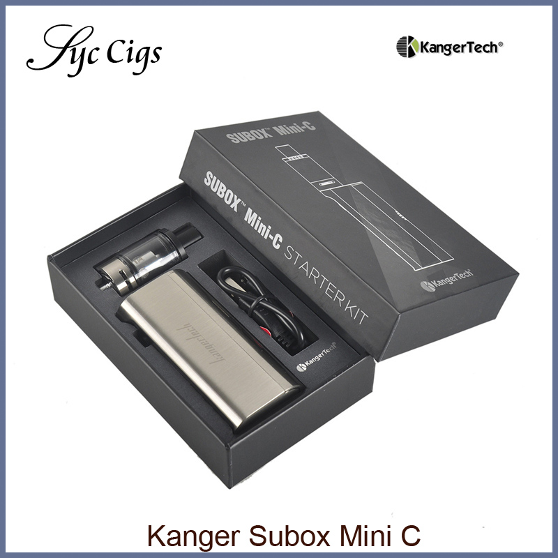 Original Kanger Subox Mini C Starter Kit with 3ml E juice Tank 7 50w Battery Mod