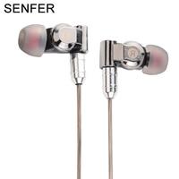 Ollivan SENFER XBA 6in1 DIY HIFI Earphone 1DD 2BA Hybrid 3 Drive Unit In Ear Earphones
