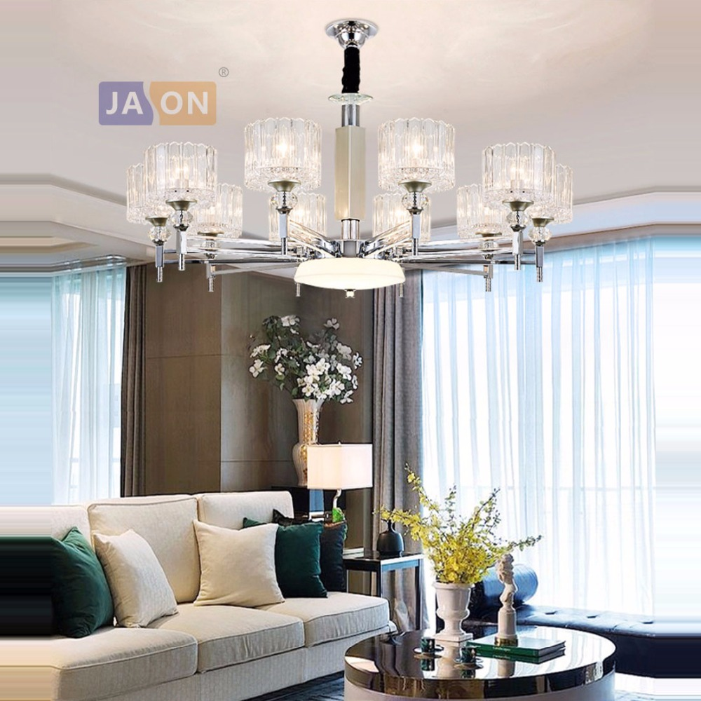 led e14 Modern Iron Glass Crystal White Chrome Chandelier Lighting Lustre Suspension Luminaire Lampen For Bedroomled e14 Modern Iron Glass Crystal White Chrome Chandelier Lighting Lustre Suspension Luminaire Lampen For Bedroom