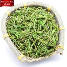 250g de china orgánica anji té blanco premium 2017 nuevo té verde super bai cha Té Aguja para el Cuidado de La Salud Belleza y Delgado Verde de Alimentos