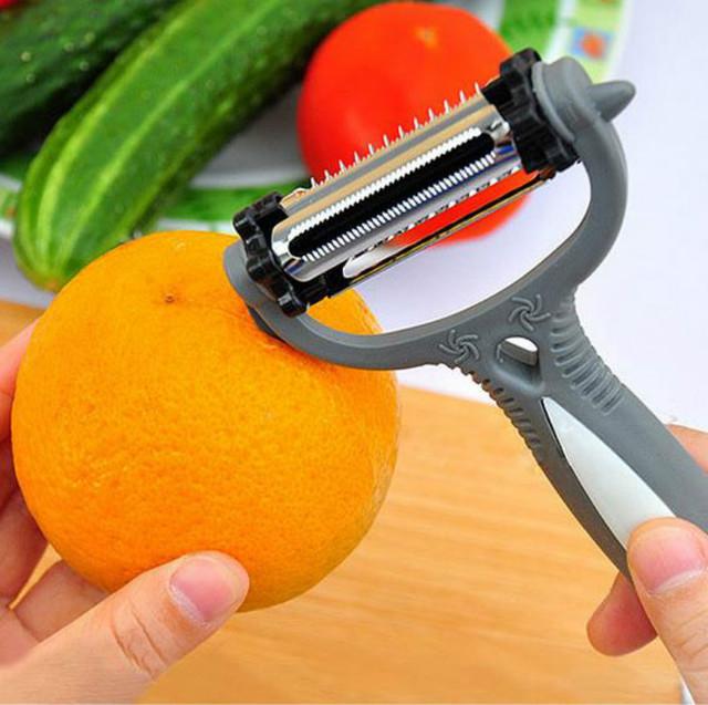 360 Degree Rotary Potato Peeler Vegetable Cutter best kitchen tools