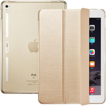 ESR Soft TPU Corner Translucent Hybrid Back Cover Auto Wake Smart Cover Case for iPad Pro 12.9″