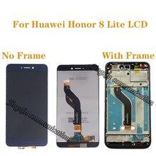 """5.2 """"AAA LCD pour Huawei Honor 8 Lite LCD + remplacement de lécran tactile pour HONOR 8 LITE PRA TL10 PRA LX1 LX3 LCD avec cadre"""