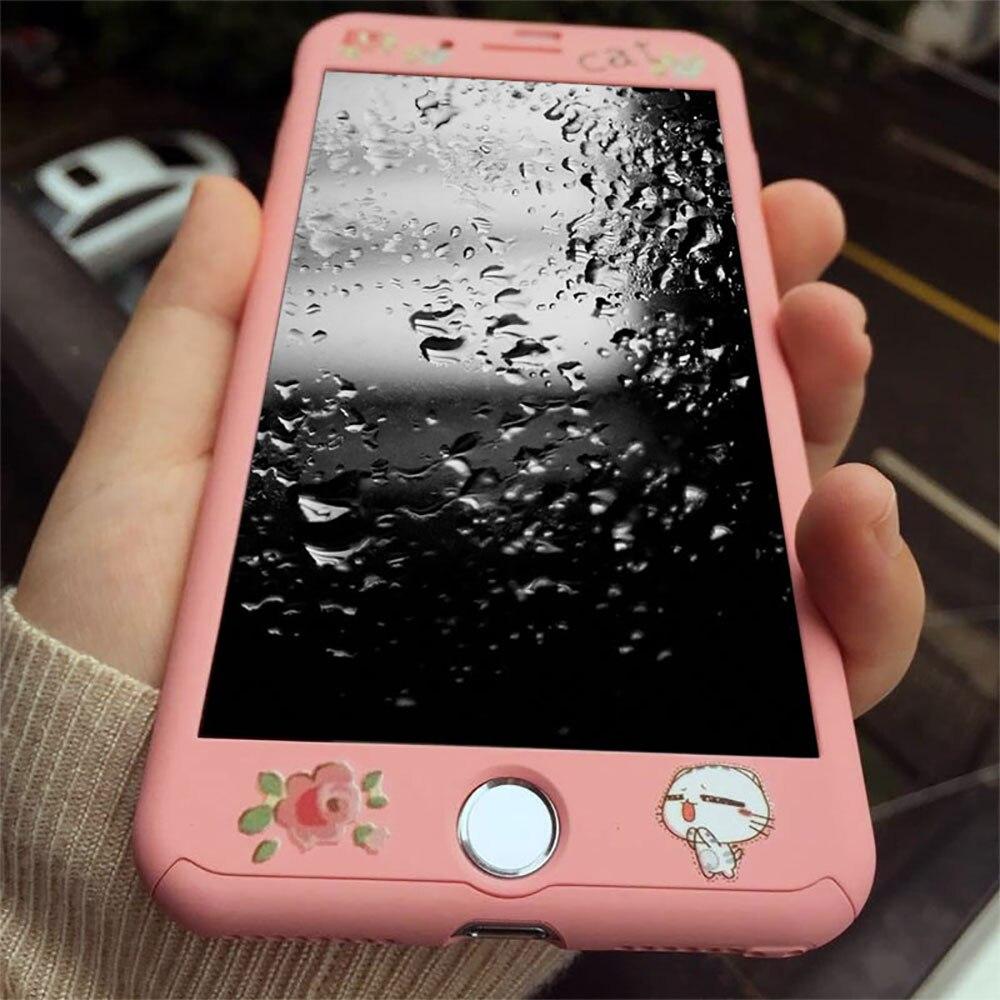 imágenes para Para iphone7 teléfono móvil case 6 s más lindo de la historieta cubierta 6 s todo incluido shel tpu suave para 7 plus