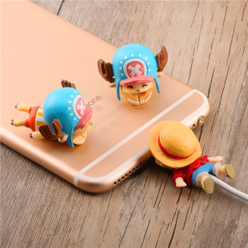 One Piece Cute Cable Bite Protector For iPhone Usb Cartoon Cable Chompers