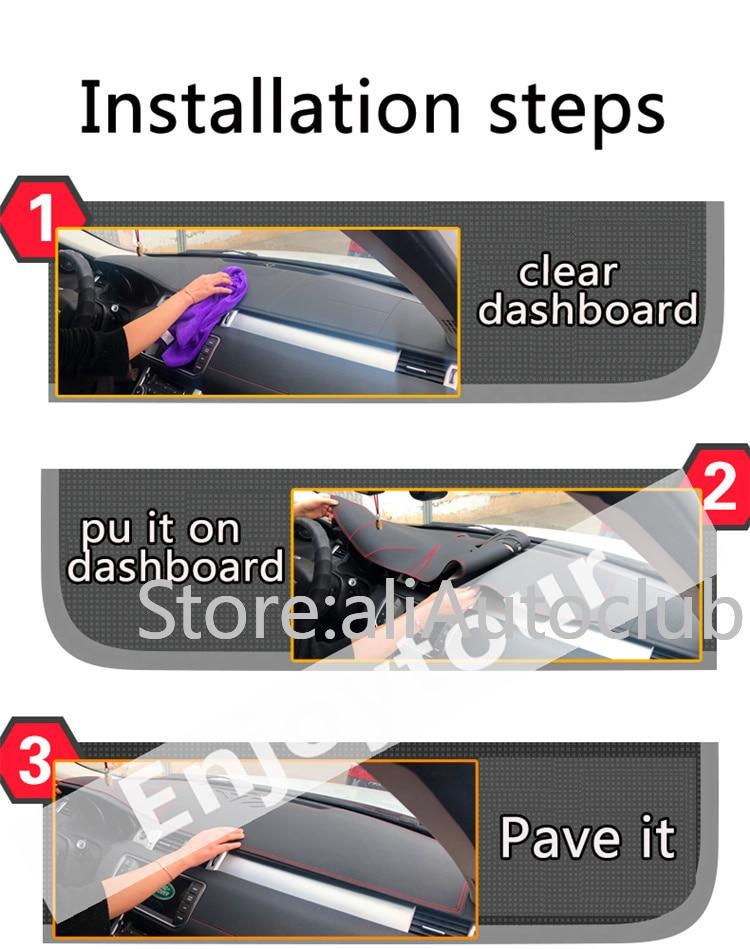 DashMat Original Dashboard Cover Daewoo Nubira 82033-01-25 Premium Carpet, Red
