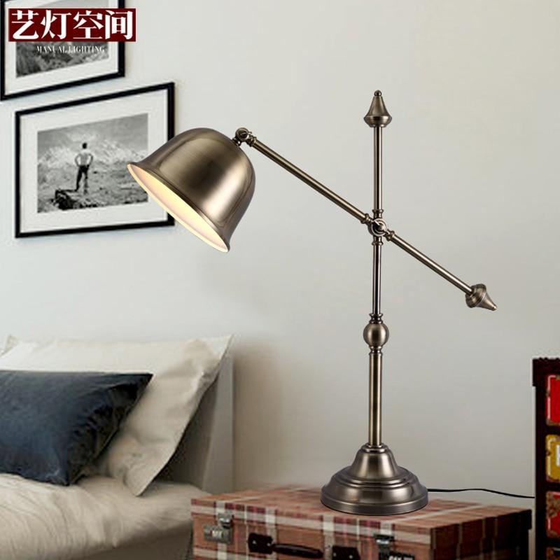 Bedroom Lamps Ikea: [Space] Antique Brass Lamp Art Lamp Bedroom Bedside Lamp